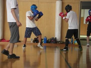 ボクシング合宿1